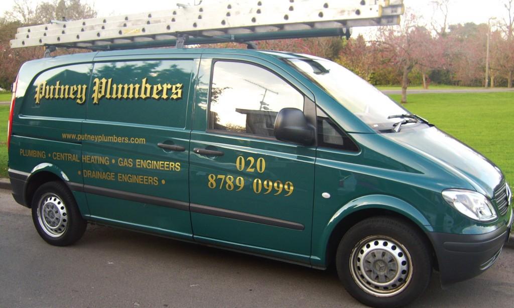 Putney Plumbers Van