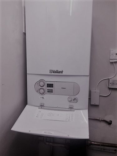 Commercial Vailliant boiler recently installed by Putney Plumbers