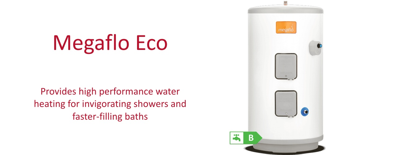 Megaflo Eco, available from Putney Plumbers